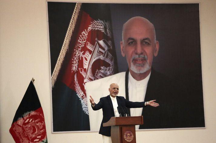 Ashraf Ghani, forseti Afganistan.