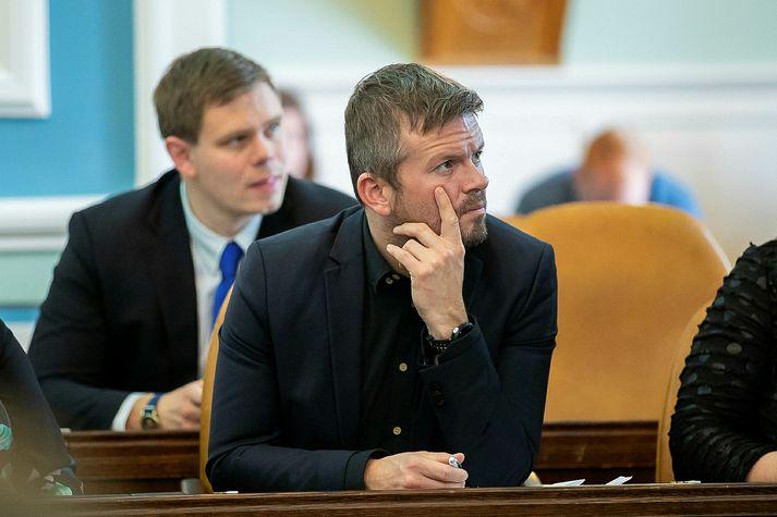 Ágúst Ólafur Ágústsson, þingmaður Samfylkingar.