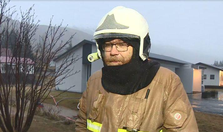 Haraldur Geir Eðvaldsson, slökkviliðsstjóri á Seyðisfirði.