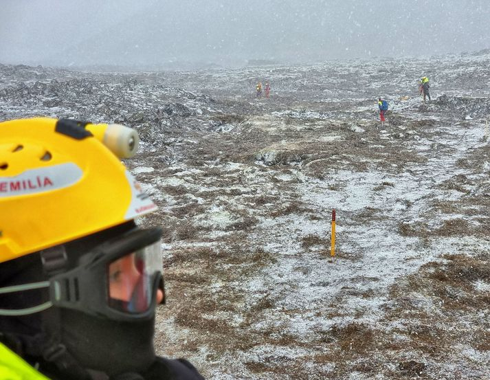 The rescue team Þorbjörn state that the new route is about 7km back and forth.