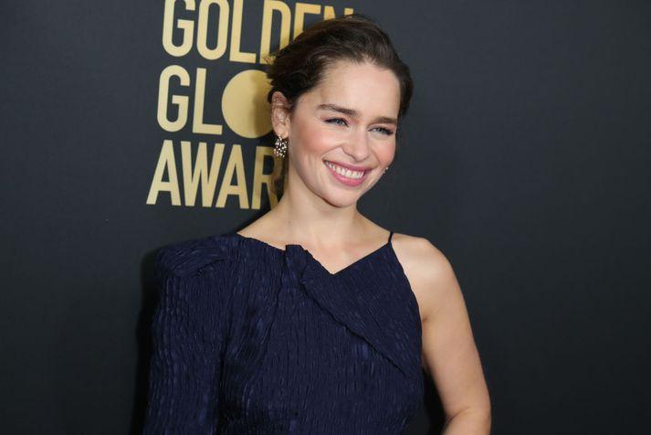 Emilia Clarke fór með eitt aðalhlutverkið í þáttunum vinsælu Game of Thrones.