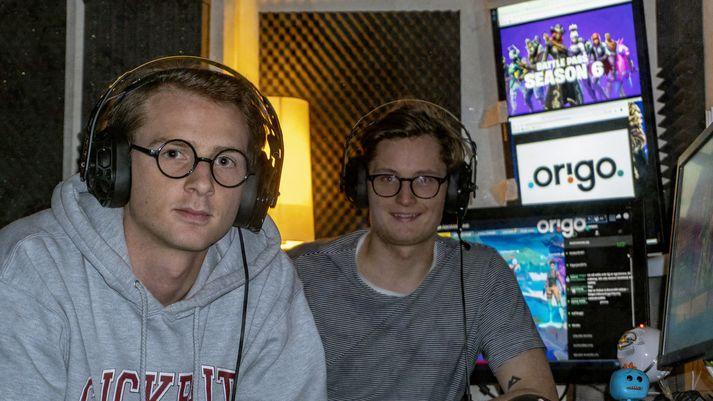 Ingi Bauer og Stefán Atli.