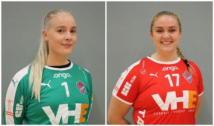Guðrún Jenný Sigurðardóttir og Karen Birna Aradóttir eru komnar til liðs við Hauka.