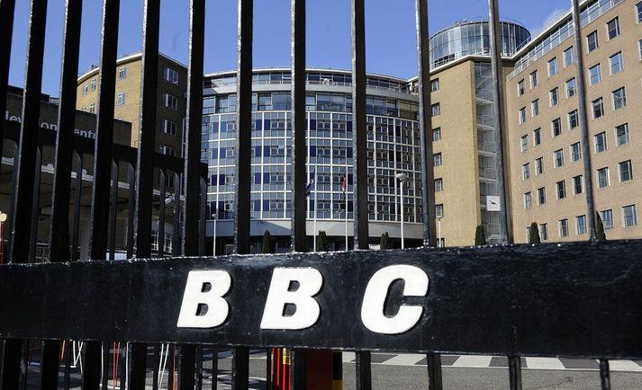 Höfuðstöðvar BBC í London.