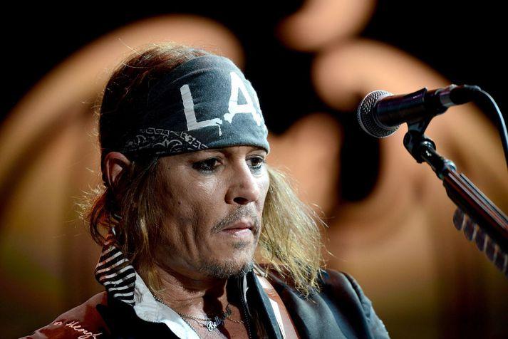 Johnny Depp hefur ekki átt sjö dagana sæla undanfarin misseri.