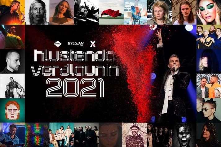Kosning fyrir Hlustendaverðlaunin 2021