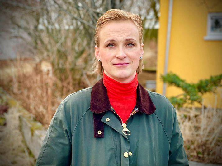 Drífa Jónasdóttir, verkefnastýra hjá Kvennaathvarfinu.