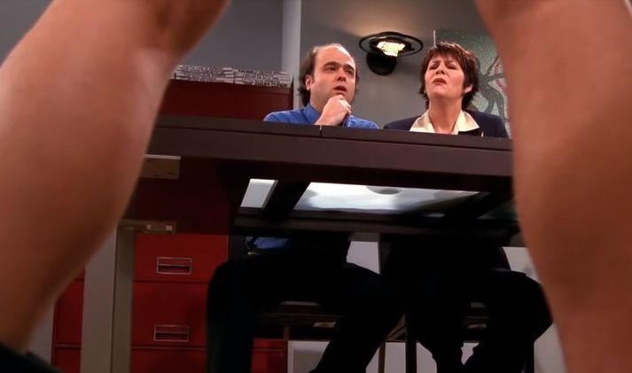 Þegar Scott Adist fékk Joey í skrautlega prufu.