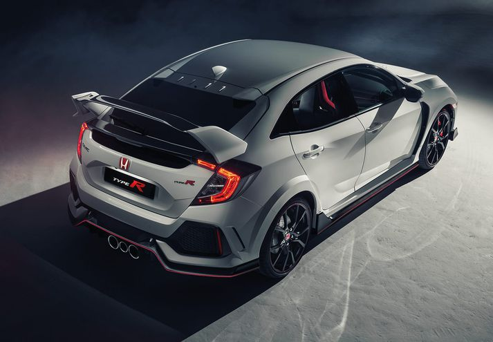 Honda Civic Type R er skruggukerra.