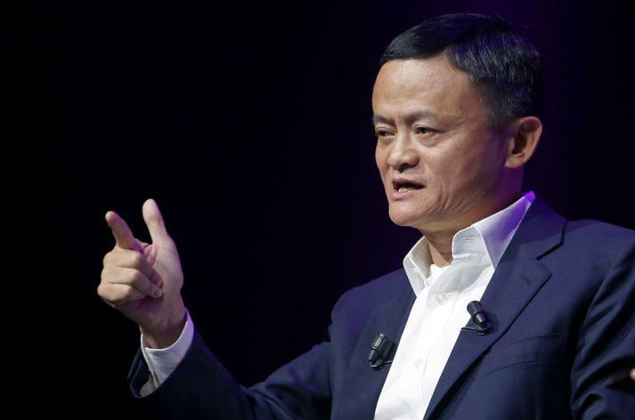 Jack Ma, stofnandi Alibaba.