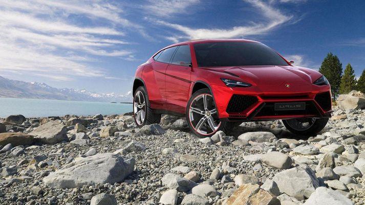 Nú er hægt að leigja Lamborghini Urus, en það kostar sitt.