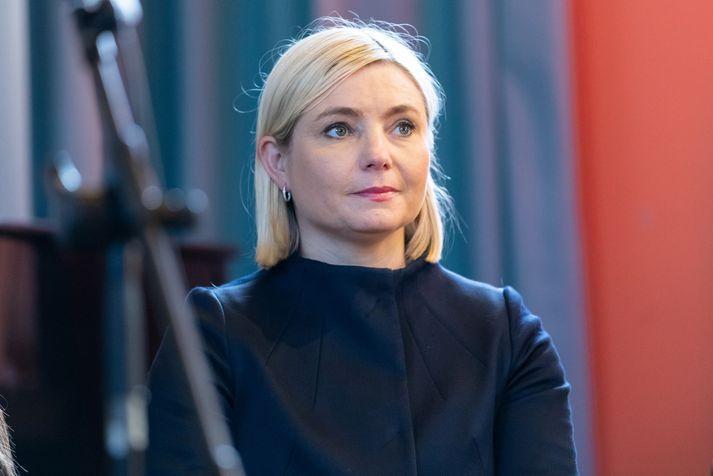 Lilja Alfreðsdóttir veitt einlægt og persónulegt viðtal í gærkvöld sem vakið hefur mikla athygli.