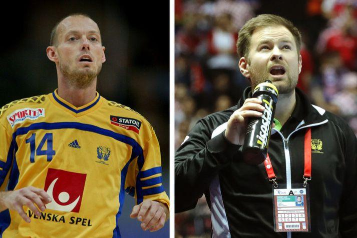 Magnus Andersson og Kristján Andrésson.