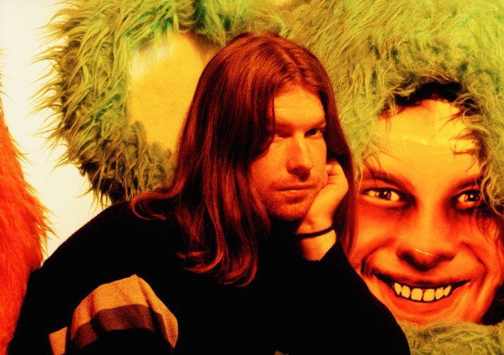 Mynd af Aphex Twin frá árinu 2000.