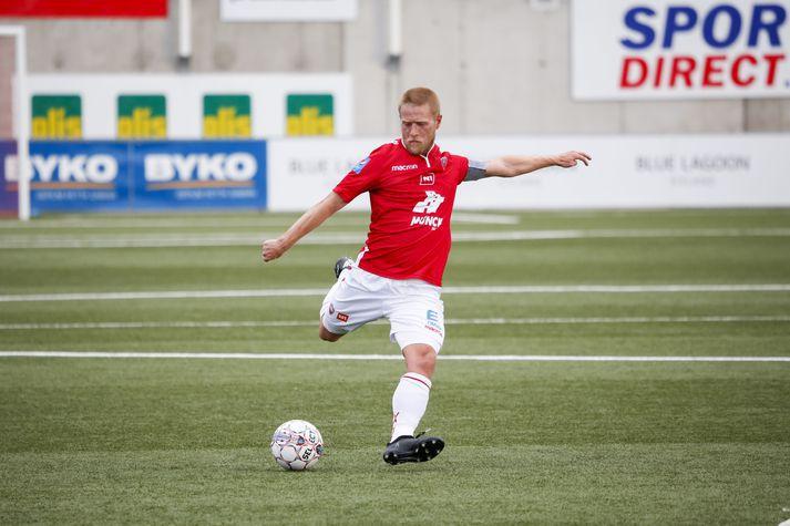 Haukur Páll Sigurðsson var í liði Vals