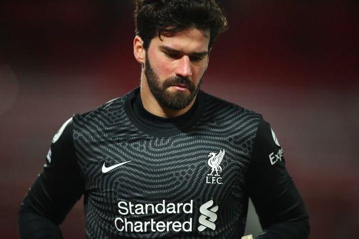 Alisson Becker hefur verið lykilmaður hjá Liverpool síðan að hann kom til félagsins.