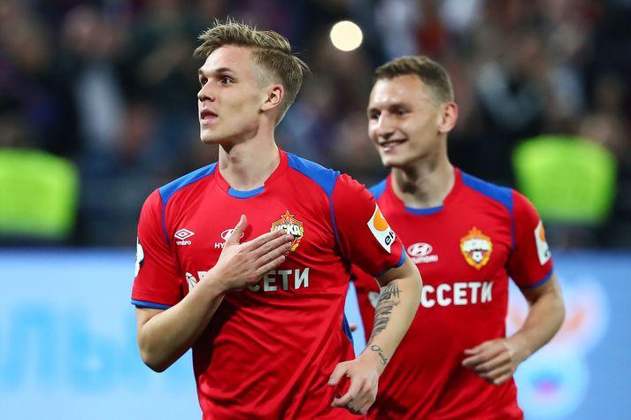 CSKA byrjar á sigri.