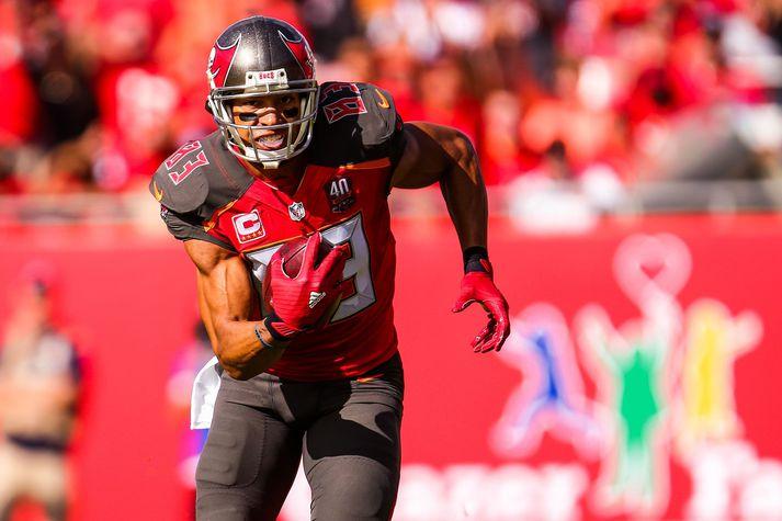 Vincent Jackson lék í tólf ár í NFL-deildinni.