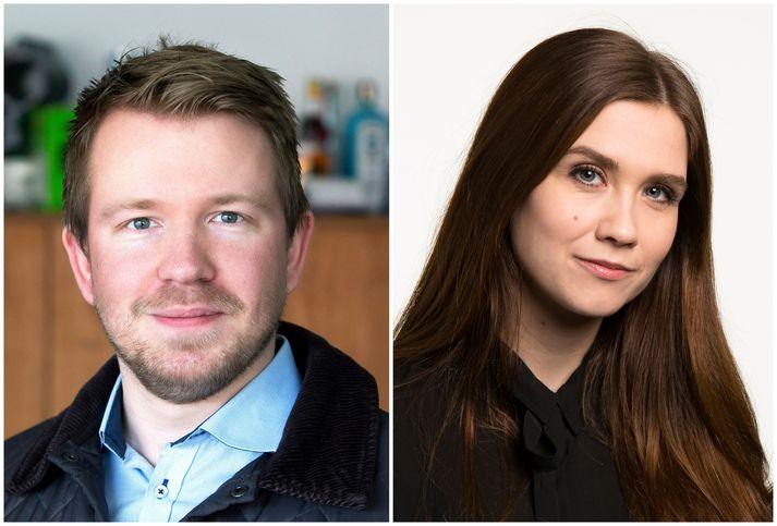 Sóli Hólm og Viktoría hafa verið par frá árinu 2016.