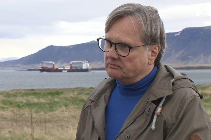 Skúli Thoroddsen, sérfræðingur í orkurétti og lögmaður Storm Orku ehf.