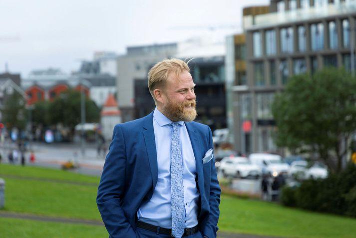 Ásgeir Jónsson.