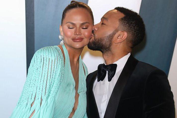 Chrissy Teigen og John Legend eru eitt frægasta par heims um þessar mundir.
