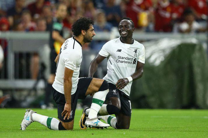 Salah og Mane fá að sofa í einkaþotu svo þeir verði ferskir í leiknum gegn Everton.