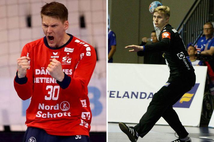 Torbjørn Bergerud og Viktor Gísli Hallgrímsson mynda markvarðapar GOG.
