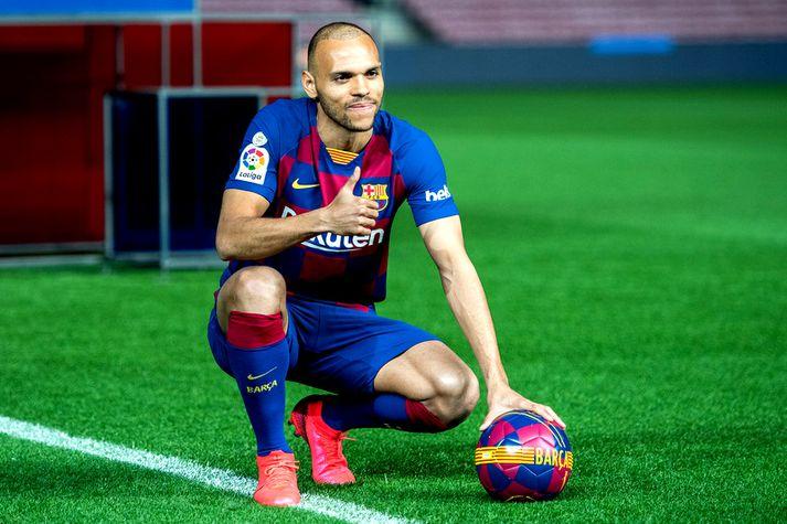 Martin Braithwaite er kominn í Barcelona búninginn.