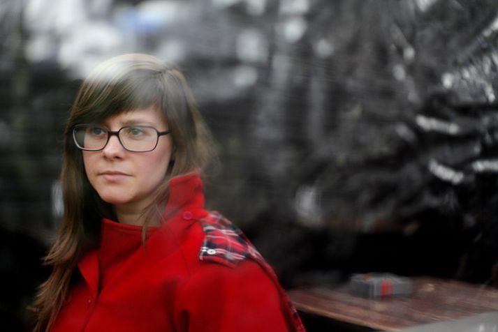 Hildur Knútsdóttir setti færslu á Facebook í dag þar sem hún segir að hún geti ekki verið í flokknum lengur.