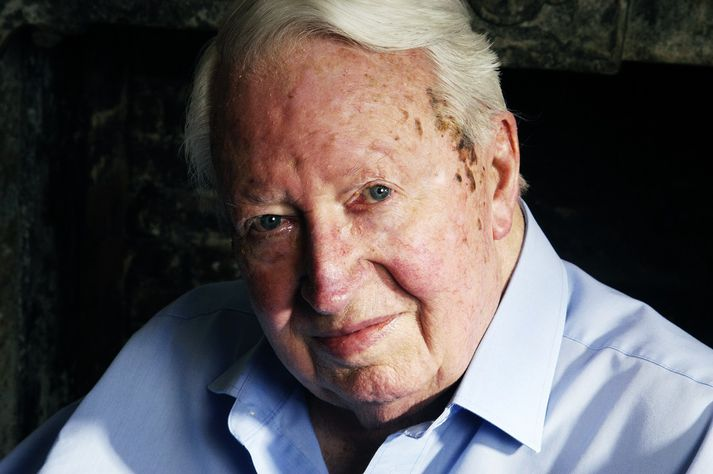 Sir Edward Heath lést árið 2005.