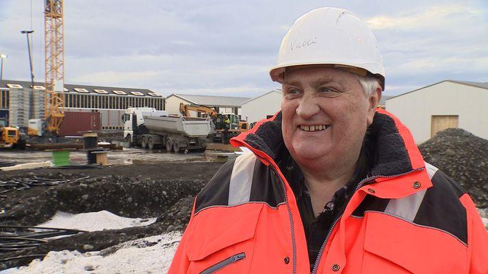 Valgarður Hilmarsson, umsjónarmaður gagnaversverkefnis.