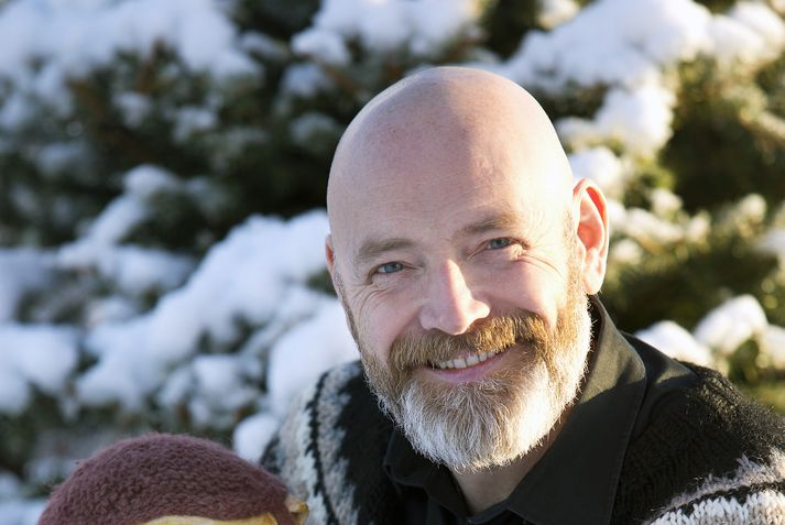 Felix Bergsson var fararstjóri íslenska hópsins í Portúgal í ár. Hann hefur fylgt íslensku hópunum út í Eurovision um nokkurt skeið.