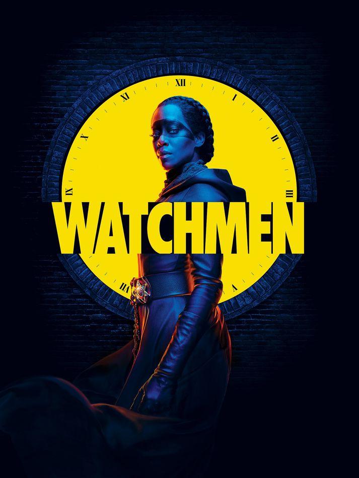 Watchmen nefnast magnþrungnir spennuþættir úr smiðju HBO sem byggðir eru á samnefndri myndasögubók.