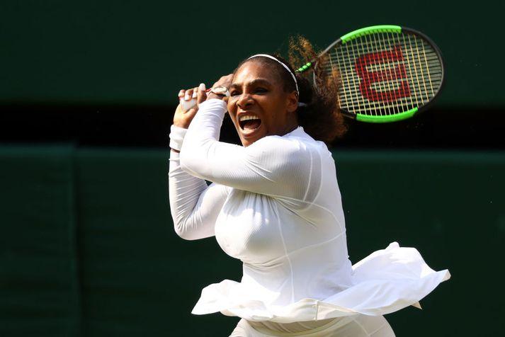 Serena Williams á líklega eftir að vinna nokkra risatitla í viðbót.
