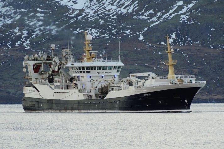Uppsjávarveiðiskipið Polar Amaroq.