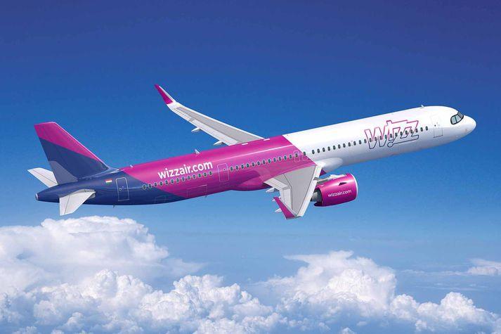 Indigo Partners pöntuðu 50 þotur af gerðinni A321XLR, þar á meðal fyrir Wizzair, sem flýgur til Íslands.