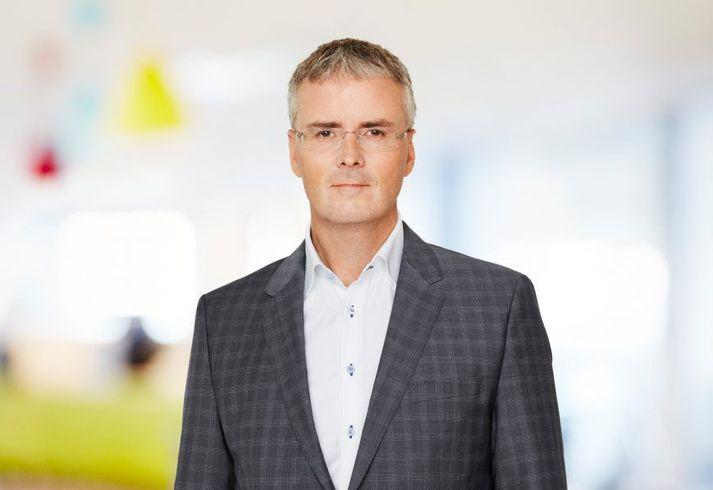 Viðar Þorkelsson, fráfarandi forstjóri Valitors