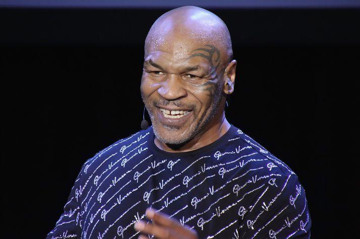 Mike Tyson er kominn í hörkuform.