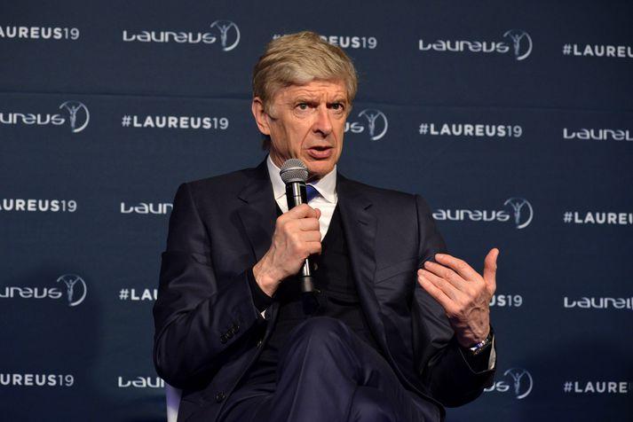 Wenger hefur ekki unnið við þjálfun síðan hann hætti hjá Arsenal í fyrra.