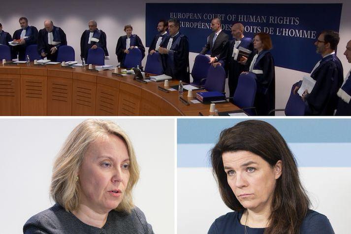 Helga Vala segist, eftir dóm MDE í Landsréttarmálinu svokallaða, ekki lengur geta treyst íslenskum stjórnvöldum.