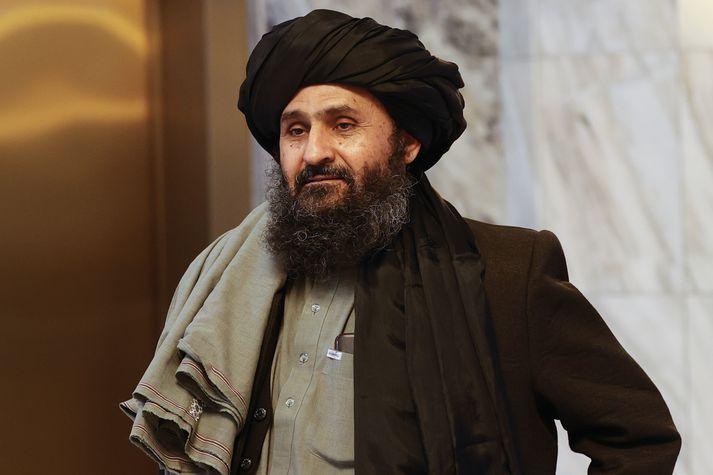 Abdul Ghani Baradar, aðstoðarforsætisráðherra Afganistan, er sagður hafa verið einn af þeim sem tók þátt í rifrildinu