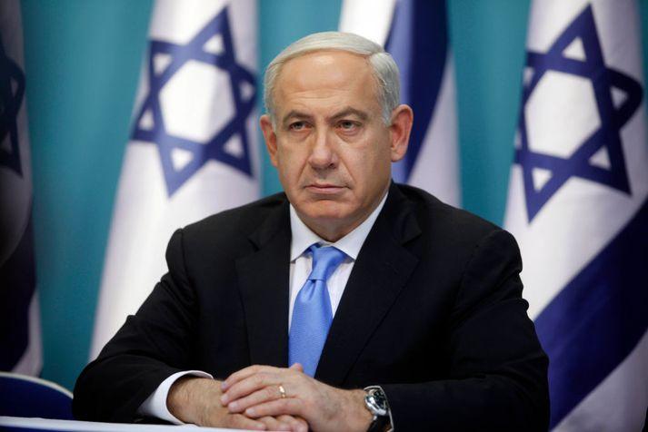Benjamin Netanyahu, forsætisráðherra Ísrael.