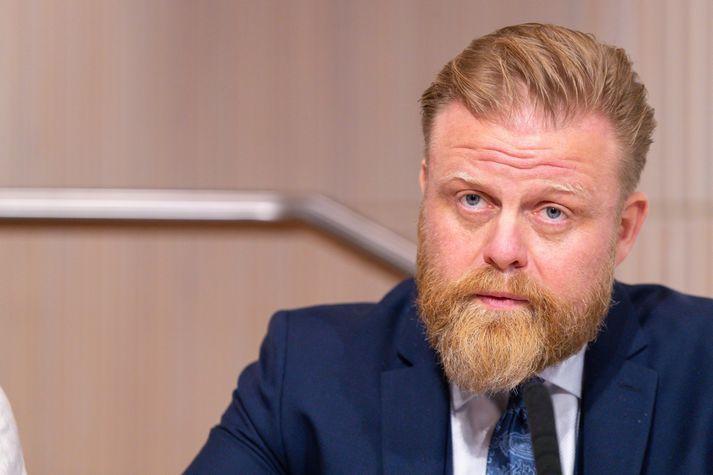 Ásgeir Jónsson, seðlabankastjóri.
