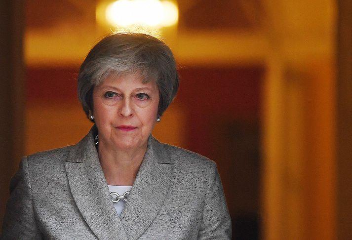 Theresa May, forsætisráðherra Bretlands, þarf að hafa hraðar hendur.