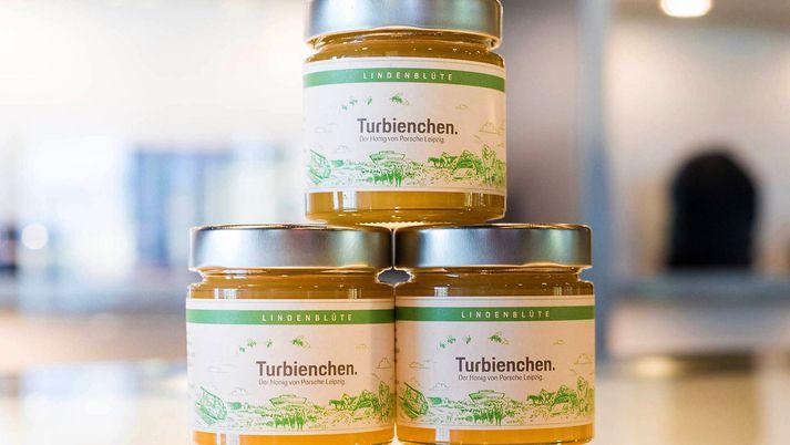 Turbienchen-hunangið er framleitt af hraðskreiðum býflugum Porsche.