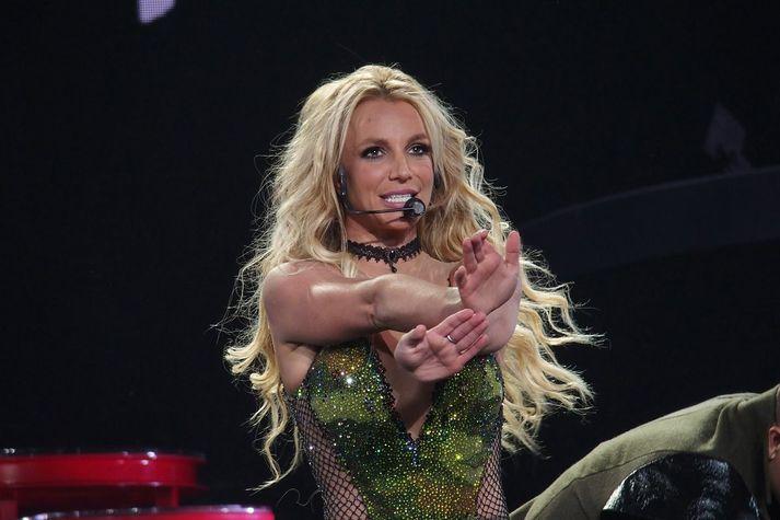 Britney Spears á tónleikum árið 2016.