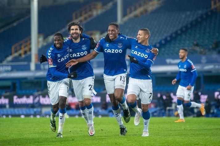 Everton var ekki í miklum vandræðum gegn Sheffield Wednesday.