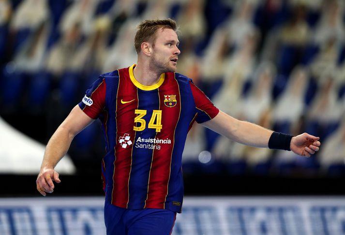 Aron Pálmarsson ætti að geta leikið með Barcelona í úrslitahelgi Meistaradeildar Evrópu.