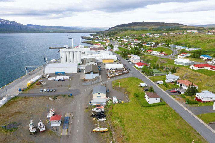 Skipverjinn var á leið til hafnar í Vopnafirði í gær.